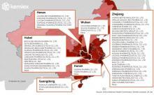 Які АФІ роблять китайські заводи, які опинилися в зоні зараження коронавірусу?